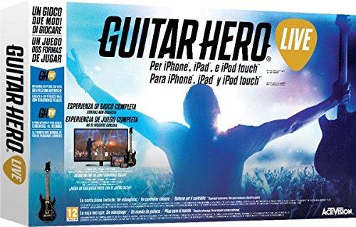 Preisvergleich Produktbild Activision Guitar Hero Live–Gaming CONTROLS (Gitarre, kabellos, iOS, Bluetooth, Analog/Digital, AA)
