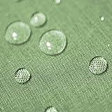 Gartentischdecke Lotus Effekt Rund 180 cm Hellgrün Grün - Farbe wählbar mit Fleckschutz - (LE_R180HGrün)