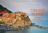 Cinque Terre - die bunten Dörfer Liguriens (Tischkalender 2019 DIN A5 quer) -