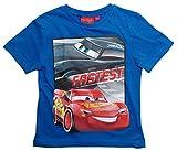 Cars Disney 3 T-Shirt 2018 Kollektion 92 98 104 110 116 122 128 Shirt Kurz Sommer Lightning McQueen Jungen (Blau, 110-116)