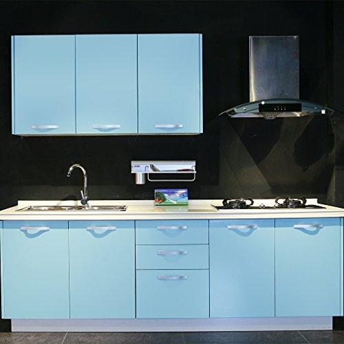 🛒 3 KINLO®Folie für Küchenschrank kühlschrank möbel aufkleber folie ...