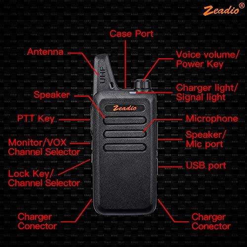Zoom IMG-2 zeadio ricetrasmittente ultra sottile pmr446