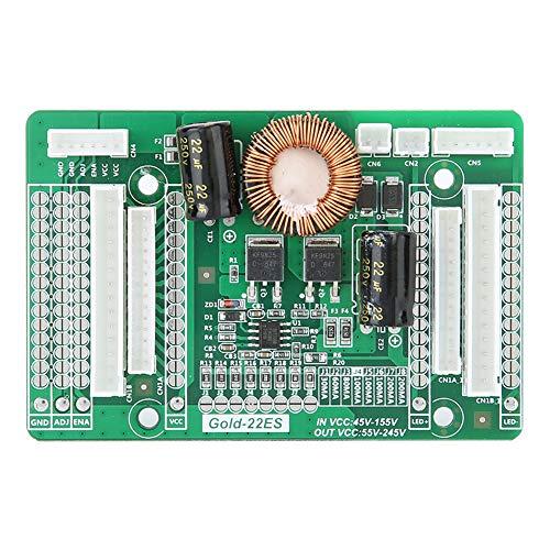 ASHATA Konstantstromplatine Step-Up-Modul für 22-60-Zoll-LED-TV-Bildschirm mit Hintergrundbeleuchtung 55-245 V Ausgang, Konstantstromplatine Geeignet für 22-60-Zoll-LED-TV-Bildschirm