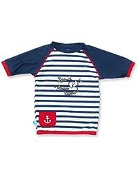 Ensemble T-Shirt Maillot et Short Anti-UV - Bébé et Enfant - Deauville - Manches Courtes - Elly La Fripouille
