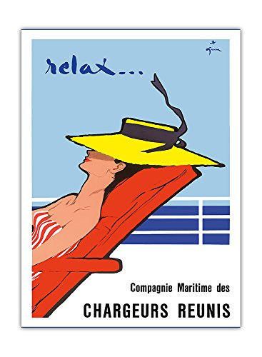 relax-france-compagnie-maritime-des-chargeurs-runis-maritime-company-of-united-shippers-vintage-ocea