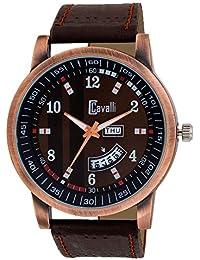 Cavalli Analogue Brown Dial Men's & Boy's Watch - Cs2691