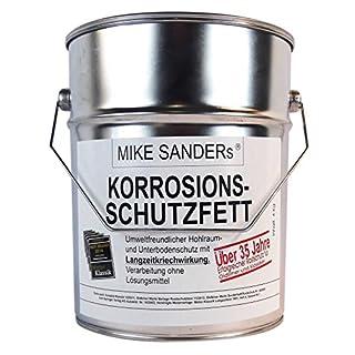 MIKE SANDERS Korrosionsschutzfett Hohlraumversieglung Rostschutz 4 kg