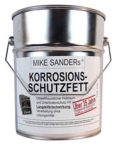 MIKE SANDERS Korrosionsschutzfett Hohlraumversieglung Rostschutz 4 kg - Sander 7