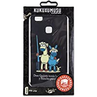 Kukuxumusu SanchoFriend - Funda TPU para Huawei P9 Lite, Color Negro