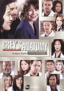 Grey's Anatomy 10 Serie (6 DVD)