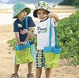 Strandtasche - Mesh Hand Organizer Tasche Klappladen für Kinder Spielzeug Sommer,Kinder Aufbewahrungsnetz Aufbewahrung Netz Tasche