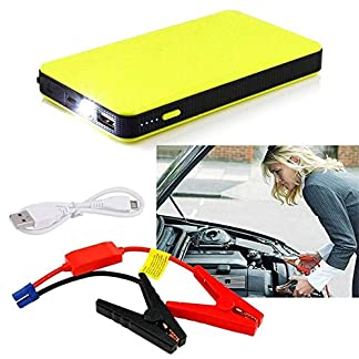 ningbao951 12V 20000mAh Mini Portable Multifunctional Car Jump Starter Power Booster Battery Charger Emergency Start Charger