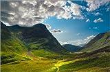 Poster 90 x 60 cm: Schottland - Glen Coe von Reiner Würz