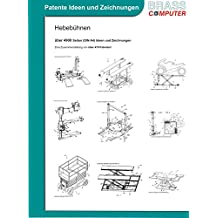 Hebebühnen, ca. 4900 Seiten (DIN A4) Ideen und Zeichnungen