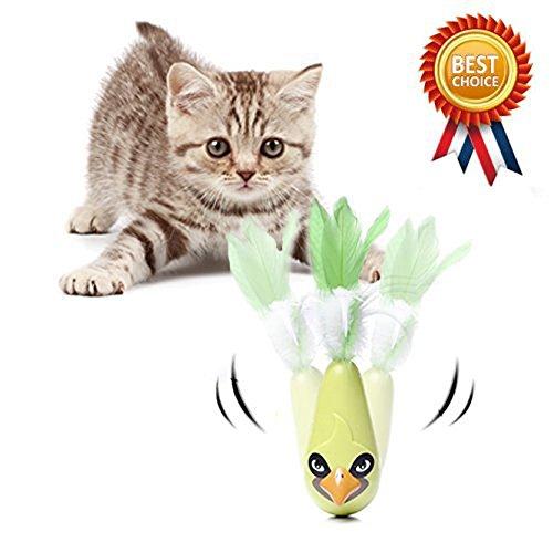 Katzenspielzeug Federspielzeug Elektrische Automatisch Drehendes Katzen Spielzeug Elektrische Rotierende Spielzeug für Katzen / Kitten Katze