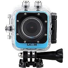 SJCAM M10versión WiFi Novatek 9665512mp 1080p Cube Mini Deportes cámara de acción–1,5pulgadas LCD 170grados gran angular impermeable Buceo HD Videocámara AV Azul