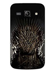 The Iron Throne - GOT - Hard Back Case Cover for Samsung Core Prime - Superior Matte Finish - HD Printed Cases and Covers