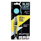 BLUFIXX MGS für Metall, Glas und Stein - Nachfüllkartusche, Klar