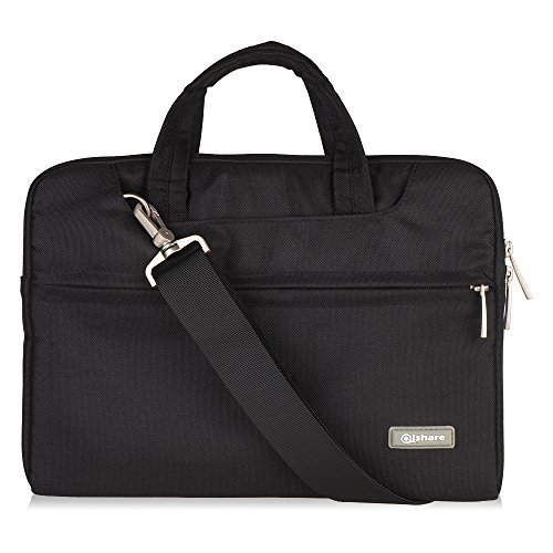 qishare-116-12-inch-multi-functional-polyester-fabric-waterproof-laptop-shoulder-bagadjustable-shoul