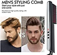 Father's Day gift,Premium Men's Beard Straightener,Multifunctional Beard And Hair Straightening Brush