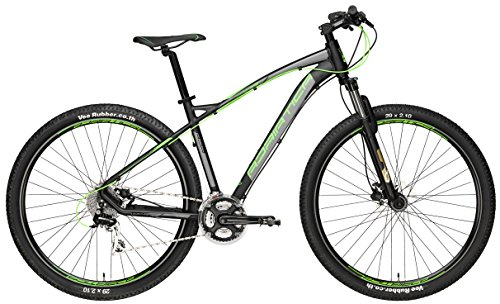Adriatica 29 Zoll Mountainbike Wing RS 24 Gang, Farbe:schwarz-grün, Rahmengröße:46cm -