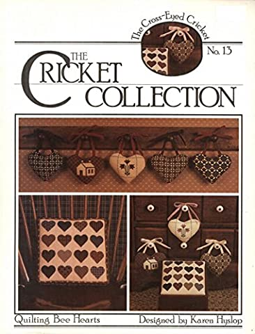 Quilting Bee Hearts Cross Stitch Patterns, The Cricket Collection #13