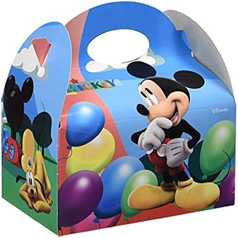Mickey Mouse - Cajitas vacías con balones Clubhouse, 24 unidades (Verbetena 014001017)