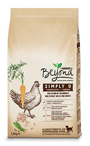 Beyond Purina Simply 9 Hundetrockenfutter, Natürliche Zutaten, 6er Pack (6 x 1,4kg Beutel)