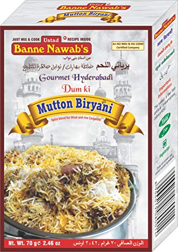 3. Ustad Banne Nawab's Mutton And Chicken Biryani Masala