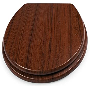 Walnuss Farbe Holz Ehrlich Tiger 251675346 Toilettensitz Douglas Mit Absenkautomatik
