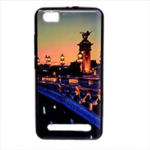 Micromax Canvas Juice 4G Q461 New Sparkle Printed Soft Back Cover