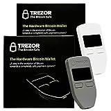 Grau & Weiß Combo trezor Hardware Wallet Vault Sicher für Bitcoin Litecoin LTC namecoin Dogecoin Dash Hardware Wallet Schutz Sichere Lagerung