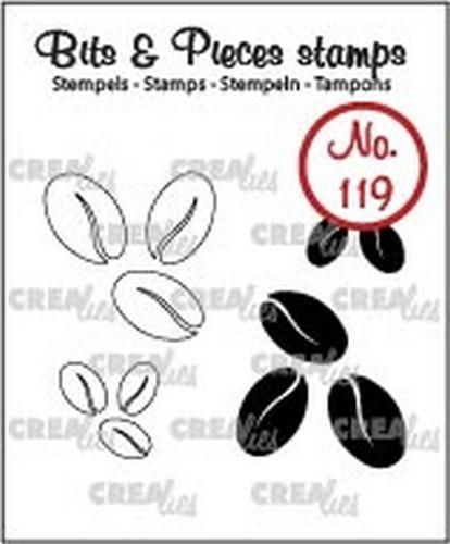 Unbekannt Clear Stamp - Kaffeebohnen