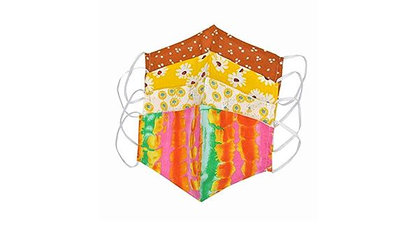 QIZHI 1PCS Imprim/é l/éopard Mas-ques Multicolore avec Brosse Cache-Oreilles Mas-Que Bouche Visage Nylon,Lavable,Tissu R/éutilisable pour Cyclisme Camping Voyage Bandeau Bavoir Mas-Que Nasal