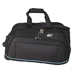 Milestone Classic 1680D Duffle Bag, 60 Cm, Black