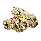 Durable traction Crampons Glace Crampons Chaussures Chaînes pour empêcher de glisser de glace/neige