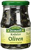 Produkt-Bild: Feinkost Dittmann Kräuter-Oliven trocken eingelegt, 3er Pack (3 x 170 g)