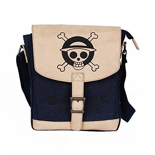Siawasey anime Cosplay messenger bag marsupio Satchel borsa Crossbody borsa a tracolla Himouto! Umaru-chan One Piece