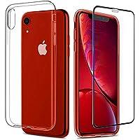 Funda para iPhone x + Juego de Cristal blindado