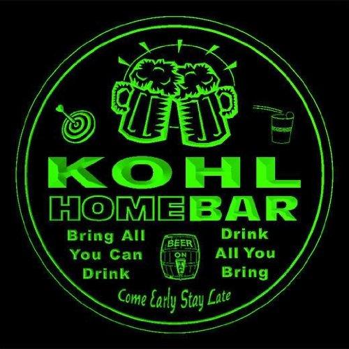 4x-ccq23986-g-kohl-family-name-home-bar-pub-beer-club-gift-3d-coasters