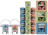 Official Yankee Candle 53 Piece Havana Tea-light, Votive & Bucket Holder Collection Gift Set