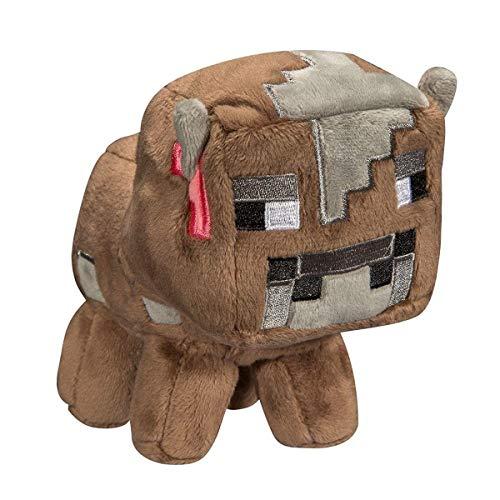Minecraft 7182 Baby Kuh Plüsch Spielzeug, interaktiv, Braun, 18 cm Preisvergleich