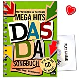 Das Da Songbuch - Internationale and nationale Mega Hits - SKV Sven Kessler - 9783938993354