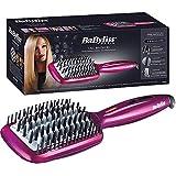 Babyliss Fuchsia Heated Brush 3D Liss Brush With Ionic Technology - HSB100SDE