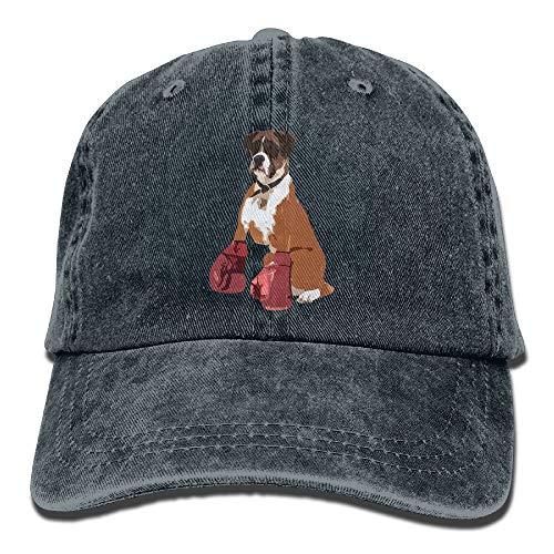 Wdskbg Boxer Dog Mens&Womens Vintage Style Fashion Sport Cap Baseball Cap Unisex22