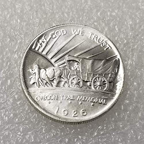 DDTing 1926 Antike Liberty Oregon Half-Dollars Münze - alte Gedenkmünze - US Old Coins - USA Original Pre Morgan unzirkuliert Zustand goodService -