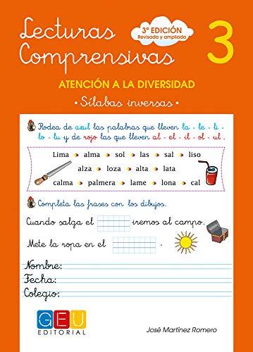 Lecturas comprensivas 3 - Sílabas Inversas por José Martínez Romero