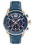 QUANTUM Herren-Armbanduhr Powertech Chronograph Quarz Leder PWG359.02