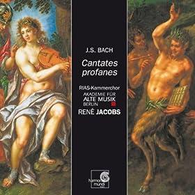"""The Contest Between Phoebus and Pan, BWV 201: Rezitativ Mercurius, Phoebus, Pan """"Was Braucht Ihr Euch Zu Zanken?"""""""