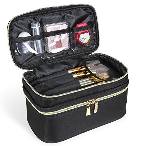 Lifewit Neceser Maquillaje 2 Pisos Bolso Mujer Profesional